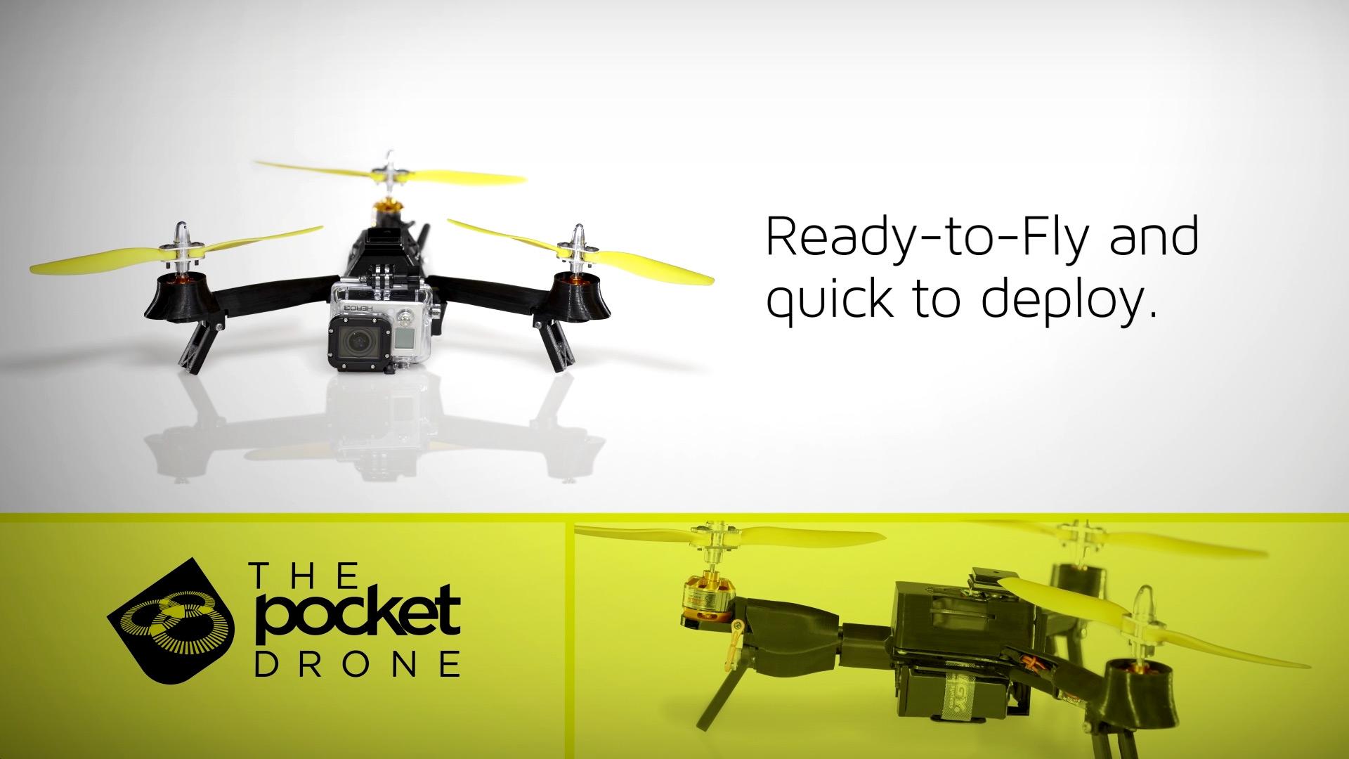 Pocket Drone | Kickstarter Promo Video