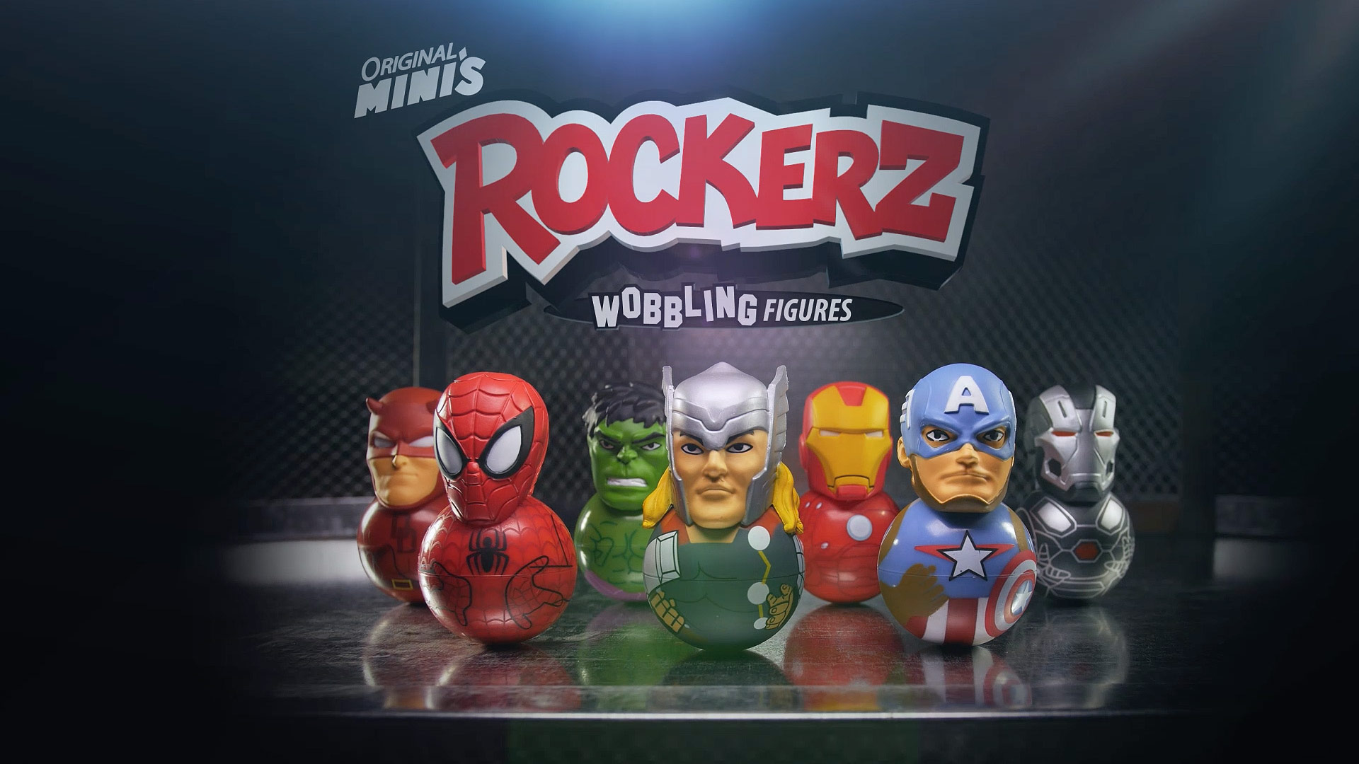 Marvel | Rockerz Toy Commercial